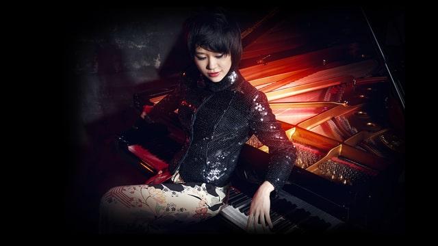 Die Pianistin Yuja Wang