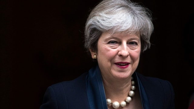 Primministra britannica Theresa May.
