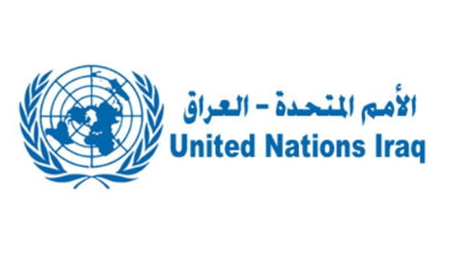 Logo der United Nations Assistance Mission for Iraq