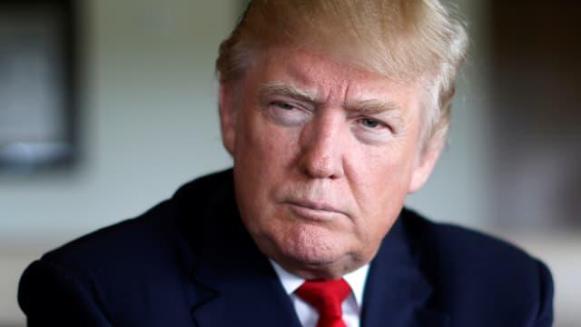 Portrait Donald Trump.