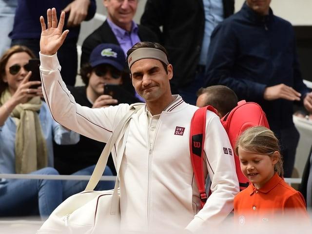 Tennisspieler Roger Federer