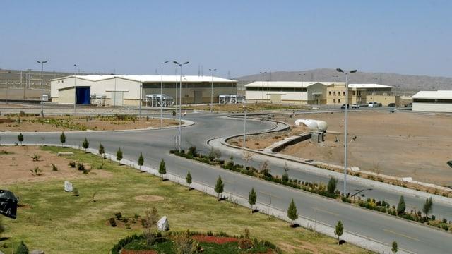 Iranische Atomanlage von Natanz: Hier wird Uran angereichert.