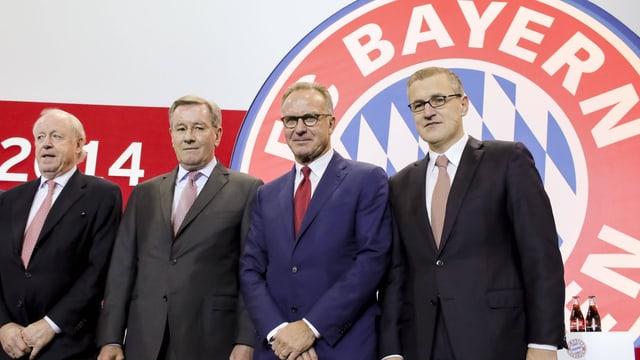 Der Vorstand des FC Bayern München