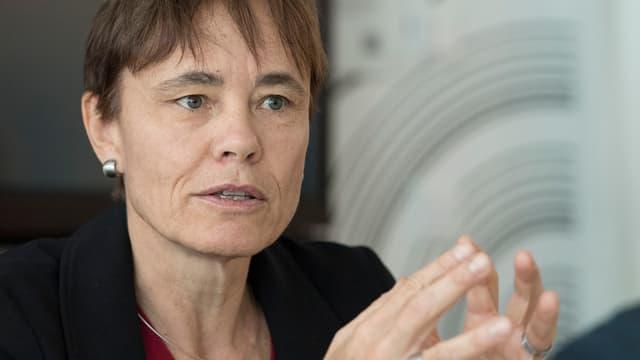 Die frühere Skirennfahrerin Corinne Schmidhauser ist Richterin in der Ad-hoc-Kommission.