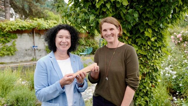 Andrea Frei (san.) succeda a la viticultura Francisca Obrecht.