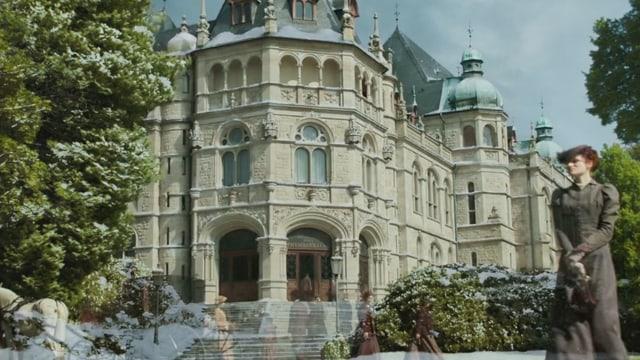 Ein Gebäude der ETH-Zürich, das es niemals gab.