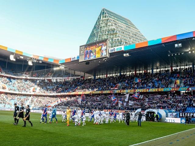 Der FCB im «Joggeli».