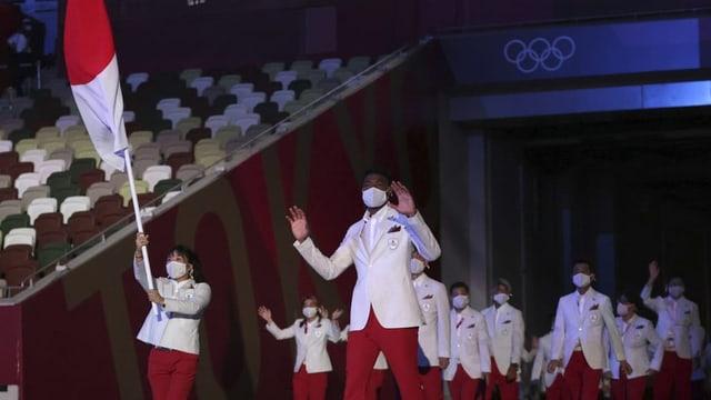 Gieus olimpics sut l'ensaina da corona