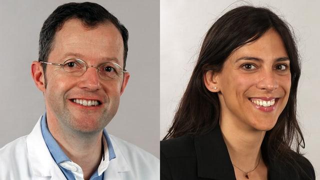 Dr. Jörg Bohlender und Dr. Kristina Castiglioni