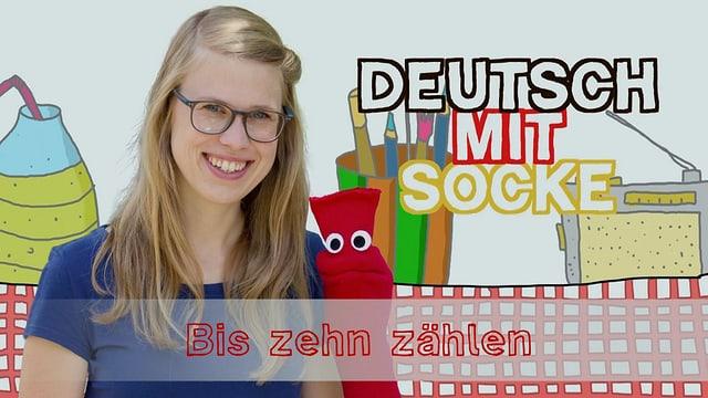 Video «Deutsch mit Socke: Bis zehn zählen (27/35)» abspielen
