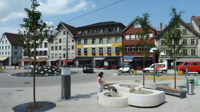 Stadtzentrum Gossau