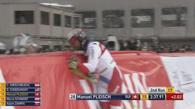 Manuel Pleischs Faustschlag.