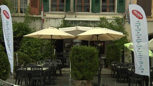 Video «Kanton Bern – Tag 1 – Restaurant Bauleuten, Büren an der Aare» abspielen