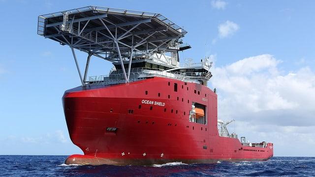 Australisches Suchschiff.