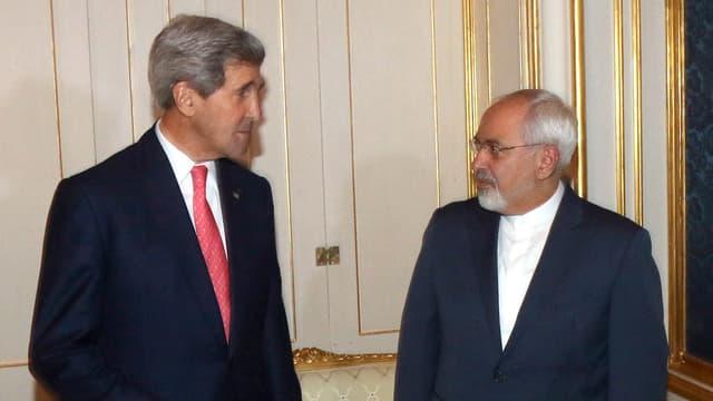 John Kerry und Javad Zarif in Wien