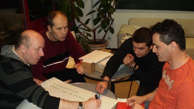 Eine Gesprächsrunde des «Väter-Forums» Zürich