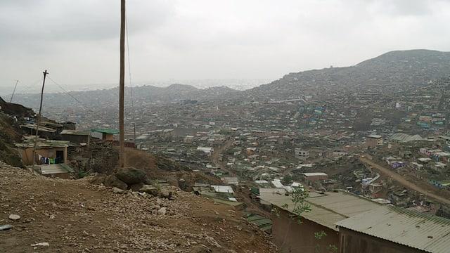 Armenviertel in Lima