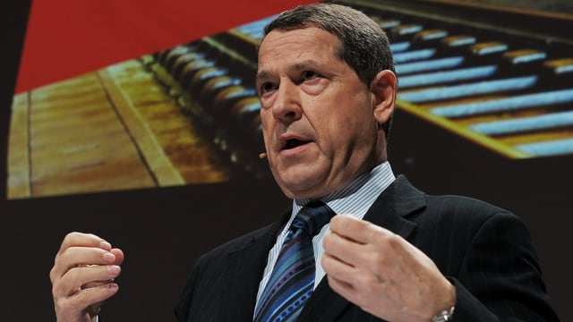 SBB-Verwaltungsratpräsident Ulrich Gygi