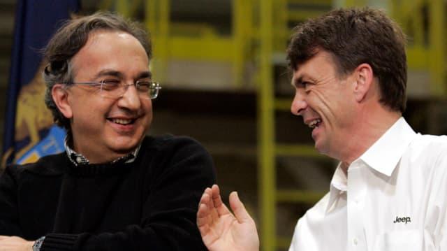 Sergio Marchionne und Mike Manley