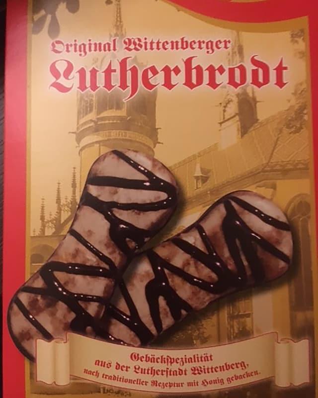 """Ein Brot einer Packung """"Lutherbrodt"""""""