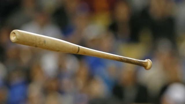 Ein Baseball-Schläger