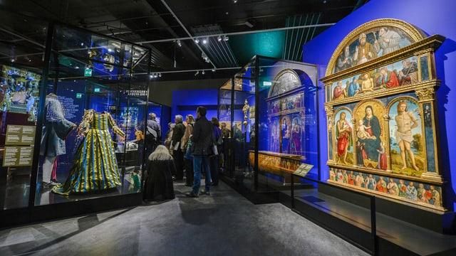 L'exposiziun «1515 Marignano» ha attratg bleras persunas.