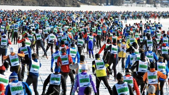Passlungists al maraton da skis engiadinais
