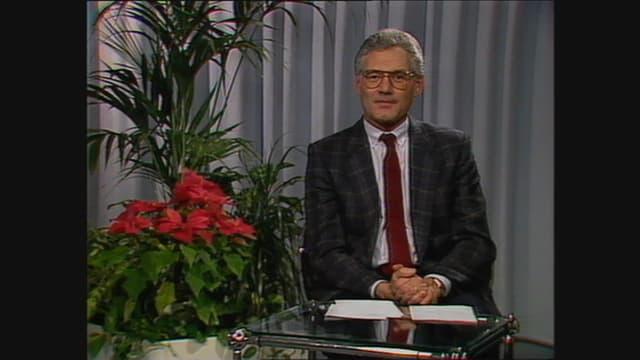 Il president da la regenza grischuna dal 1988, Reto Mengiardi, pleda en il Telesguard
