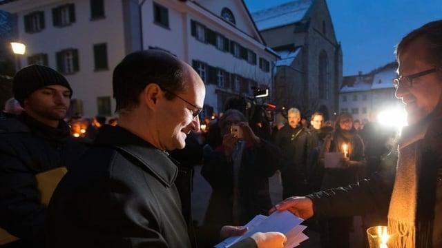 L'anteriur vicari general Martin Grichting l'onn 2013.