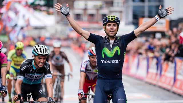 Triumf per il Spagnol Alejandro Valverde.