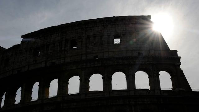 Il colosseum a Roma.