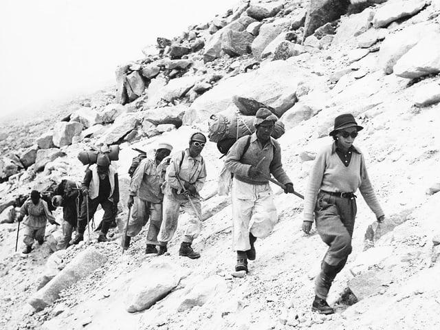 Expeditionsteilnehmer.