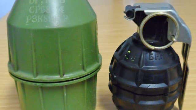 Jugoslawische Handgranate M75