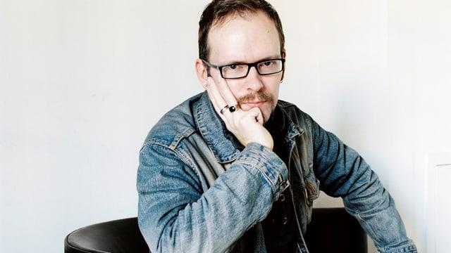 Dietmar Dath im Porträt.