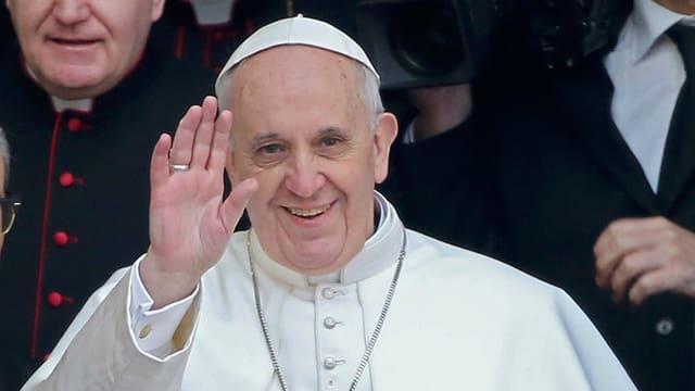 Video «Papst Franziskus: Inaugurationsmesse» abspielen