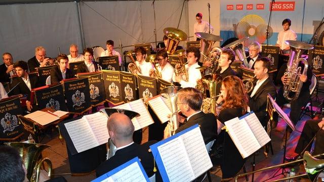 Konzertauftritt am Eidgenössischen Musikfest in Montreux