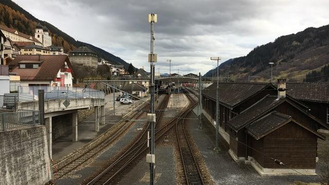 La staziun a Mustér