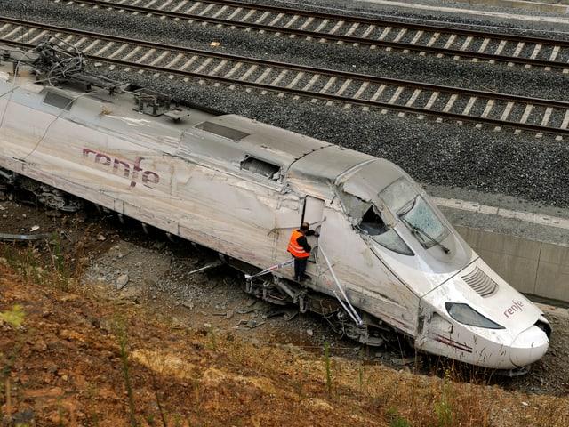 Die Lok des Zuges.