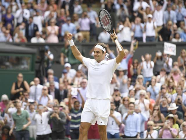 Roger Federer nimmt die «Mission Titelverteidigung» in Wimbledon als Nummer 1 der Setzliste in Angriff.