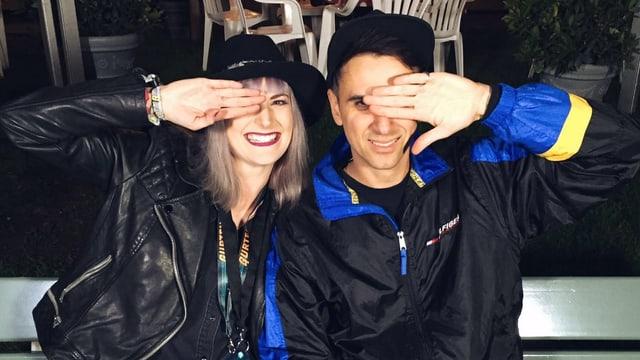 Boys Noize und Tina Nägeli