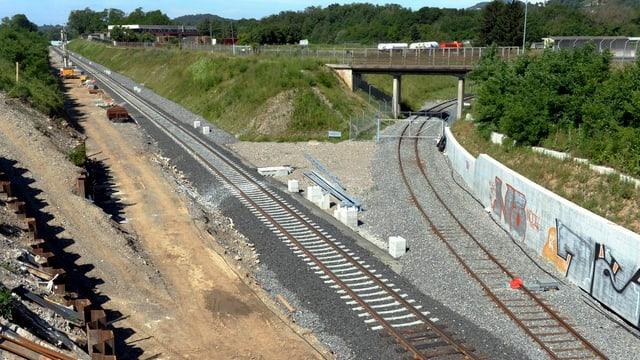 Ein Industriezweig der internationalen Linie Mendrisio-Varese.