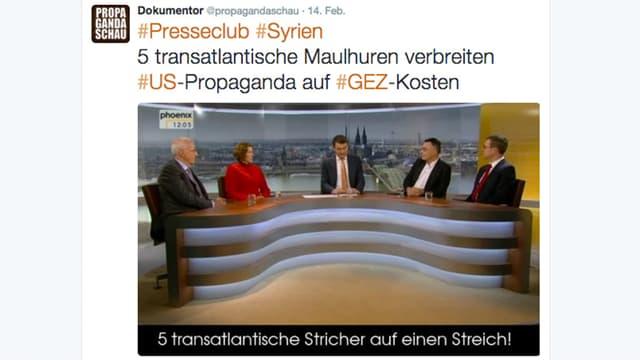 Tweet von @propagandaschau