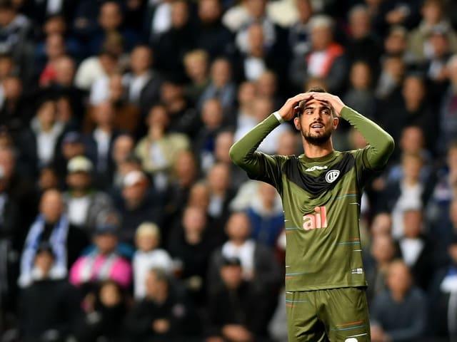 0:1 in Kopenhagen - Luganos Fehlstart in die Europa-League-Kampagne