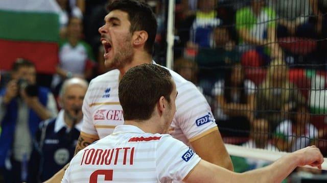 Frankreich ist erstmals Volleyball-Europameister.