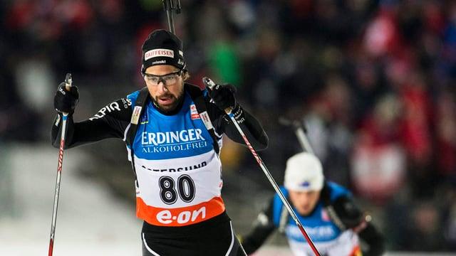 Benjamin Weger führte die Schweiz auf Rang 7.
