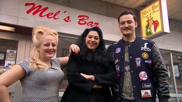 Video «Eventlokale Spezial – Tag 2 – Mel's Bar & Diner, Basel» abspielen