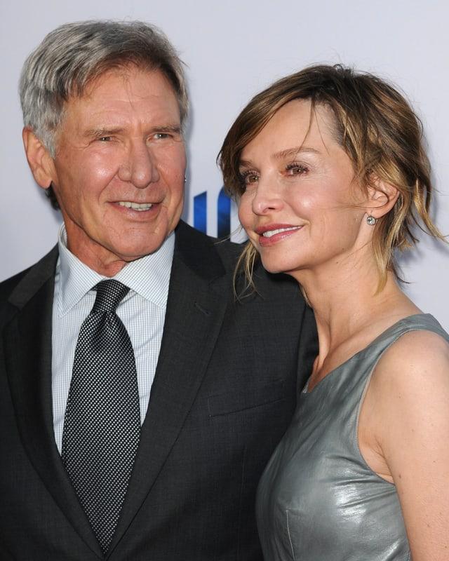 Harrison Ford und seine dritte Ehefrau Calista Flockhart