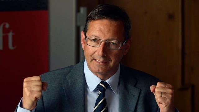 Der Urner Finanzdirektor Josef Dittli