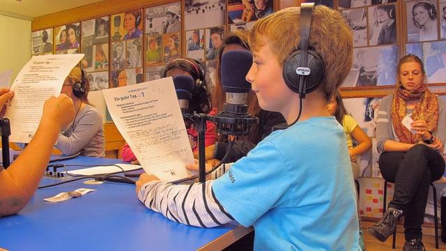 Kinder machen Radio