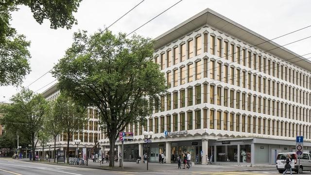 Der Hauptsitz der Luzerner Kantonalbank. Dieser soll um zwei Stockwerke aufgestockt werden.